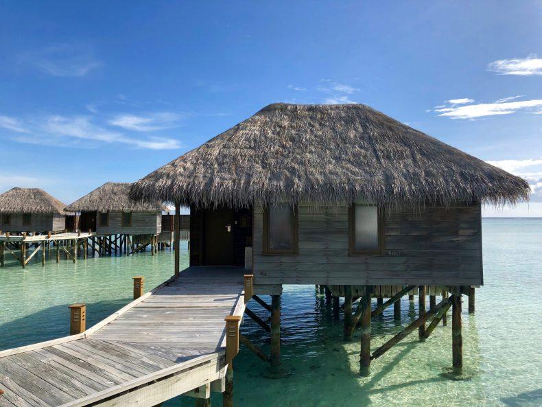 Conrad Maldives Superior Water Villa External View
