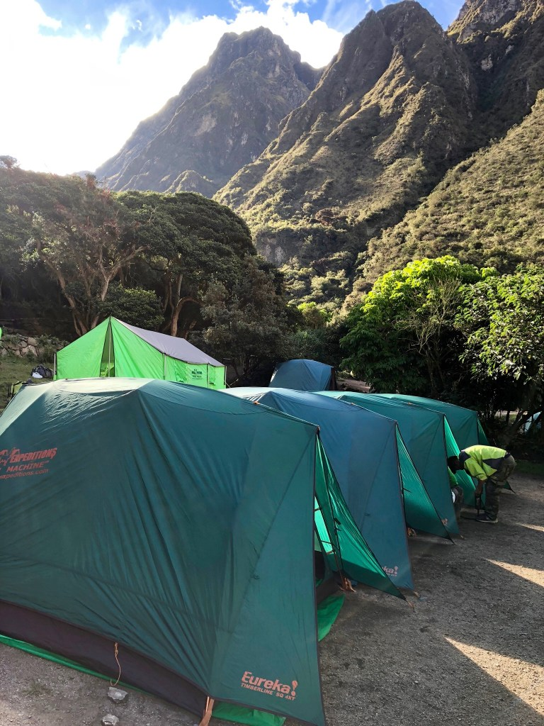 Alpaca Expeditions Camp Site