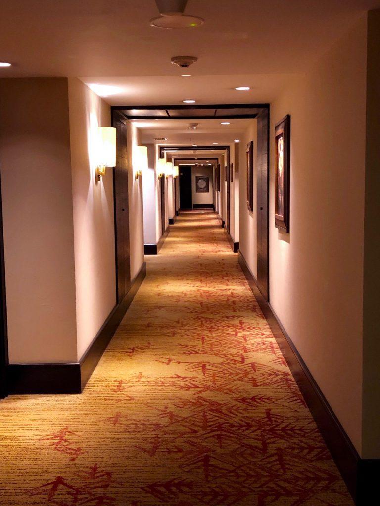 JW Marriott Cusco hallway