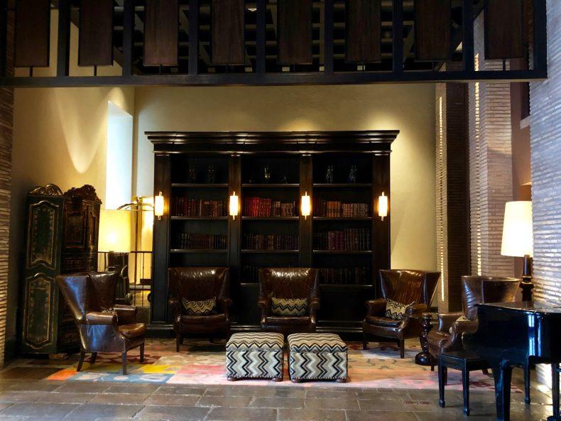 JW Marriott Cusco lounge area