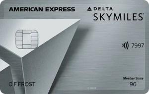 Platinum Delta SkyMiles Card