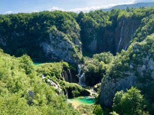 Zagreb to Split via Plitvice Lakes