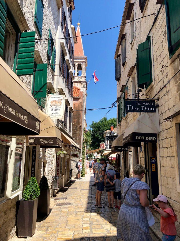 Street in Trogir