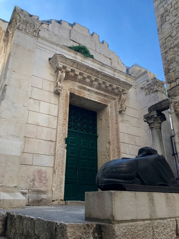 Temple of Jupiter at Diocletian's Palace