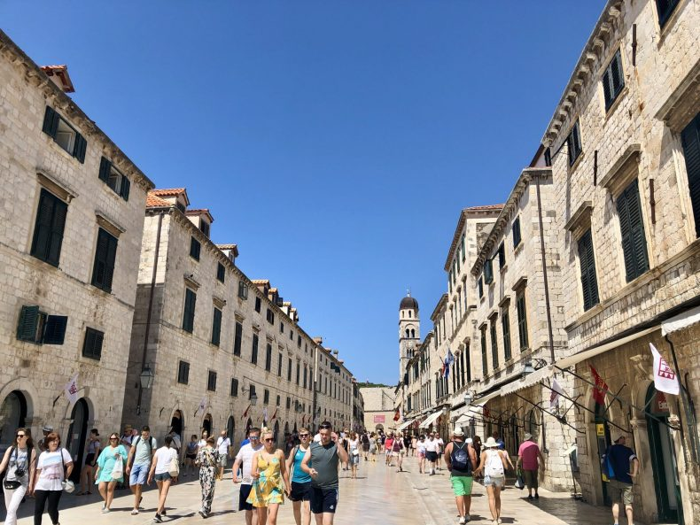 Streets of Old Town Dubrovnik