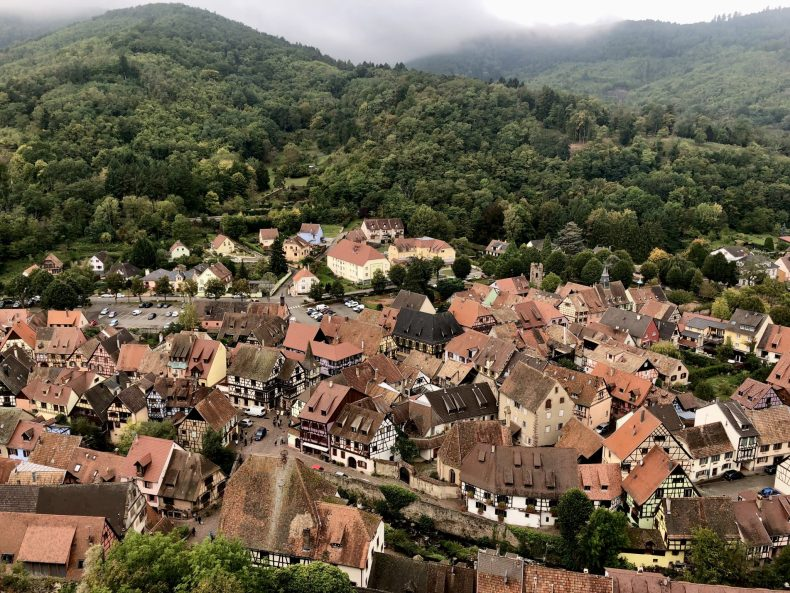 View of Kaysersberg
