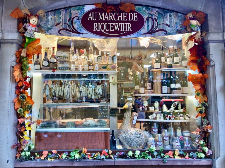 A meat shop in Riquewihr