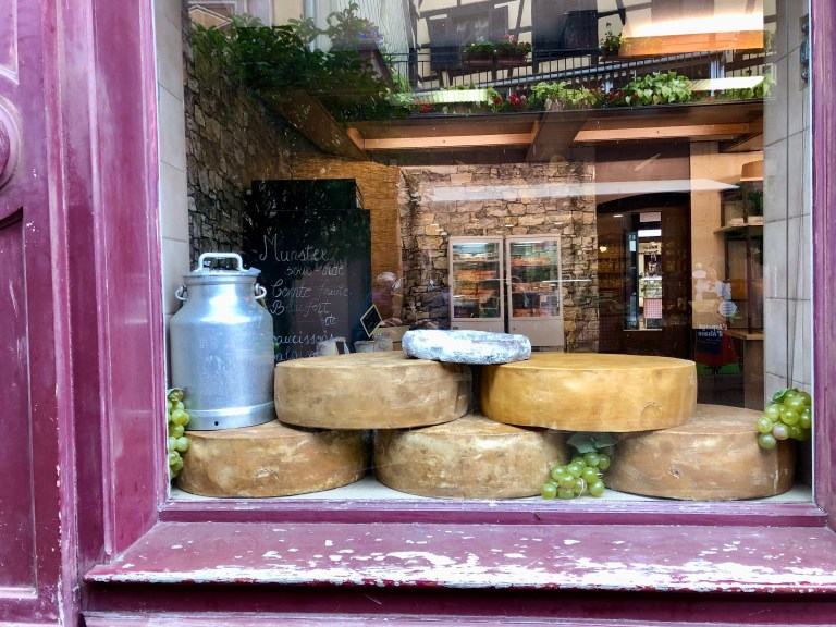 Cheese shop in Alsace