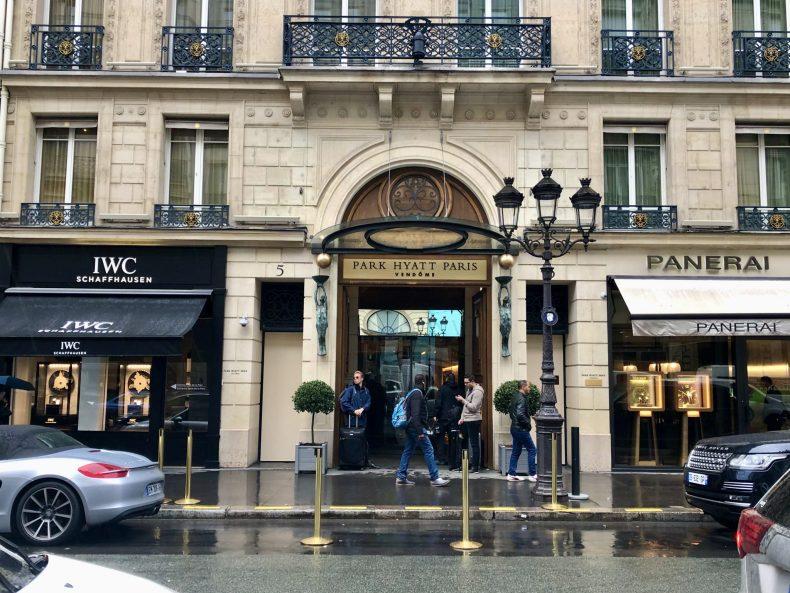 Park Hyatt Paris Exterior