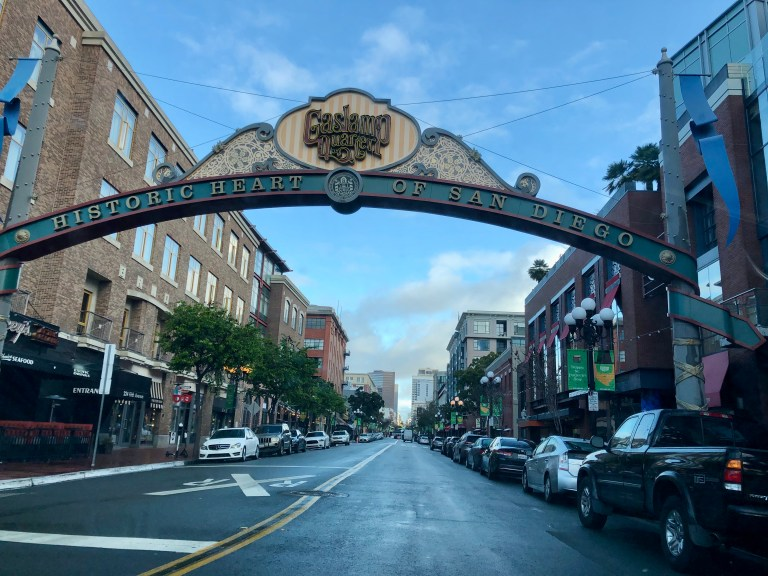 Gaslamp District San Diego