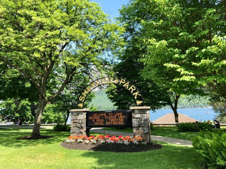 Shepard Park in Lake George Village