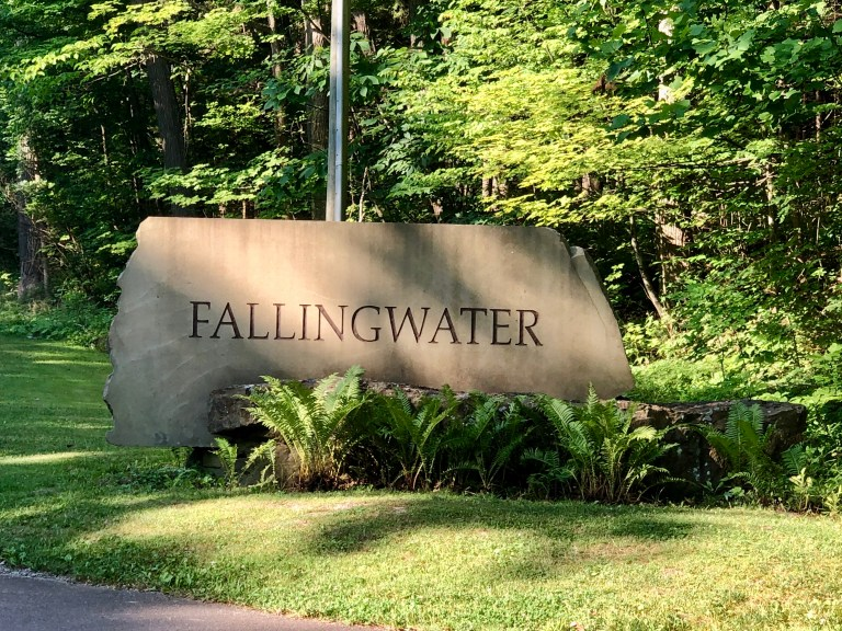 Fallingwater Sign
