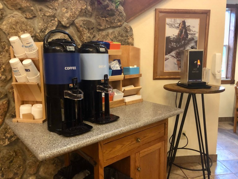 Holiday Inn Express Mount Rushmore Coffee