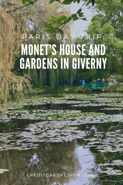 Paris Day Trip: Monet's House and Gardens in Giverny Pinterest Image