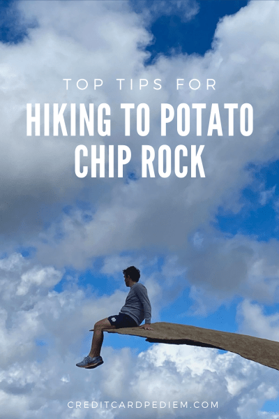 Top Tips for Hiking to Potato Chip Rock Pinterest Image