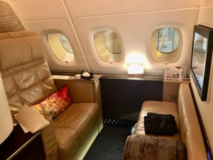 Impressions of Etihad A380 First Class Apartments