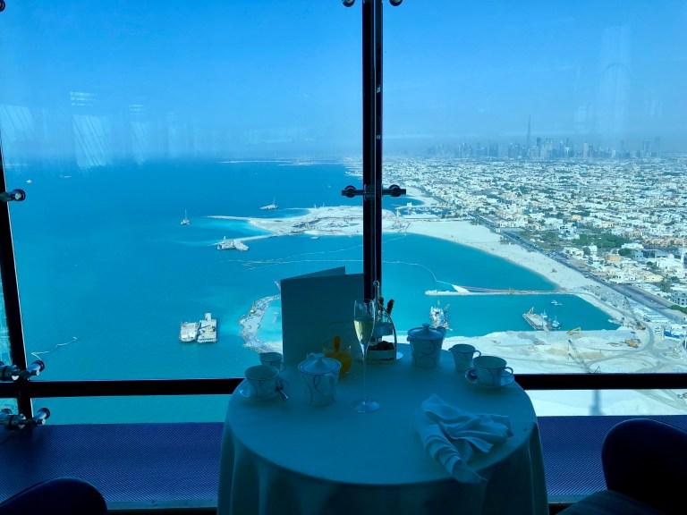 Burj Al Arab Skyview Bar Afternoon Tea
