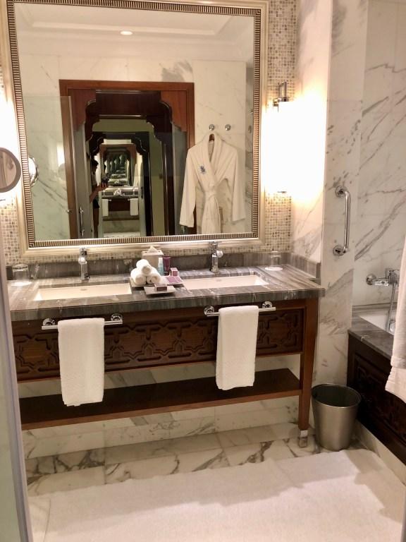 Ritz-Carlton Dubai Bathroom