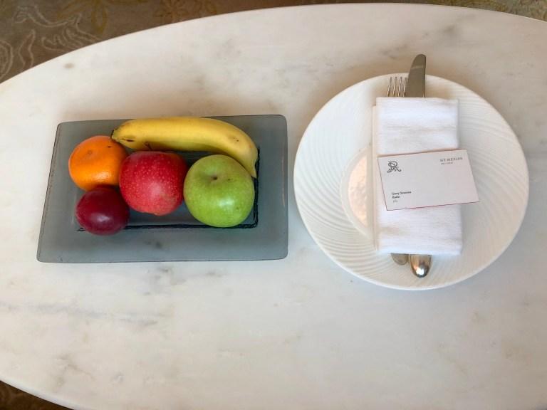 St. Regis Abu Dhabi Fruit Basket