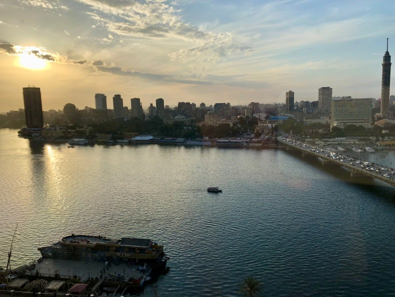 Nile View from InterContinental Cairo