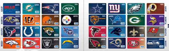 NFL Credit Cards