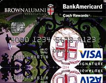 Brown University Credit Card