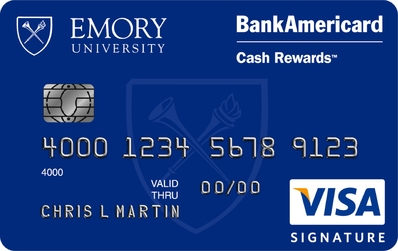 Emory University Credit Card