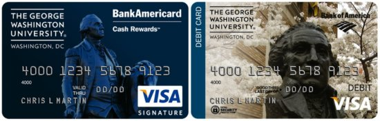 George Washington University Credit Card