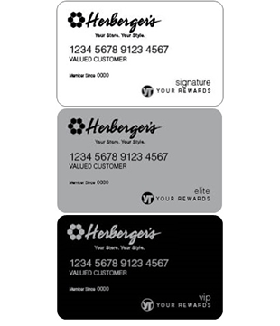 Herbergers Credit Card