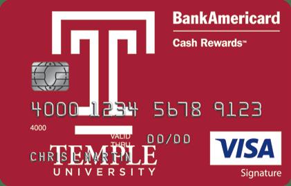 Temple University Credit Card
