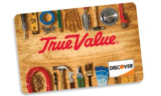True Value Discover Credit Card