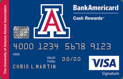 University of Arizona Credit Card