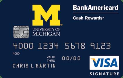 University of Michigan Credit Card
