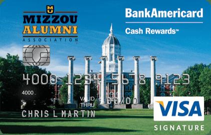 University of Missouri Credit Card