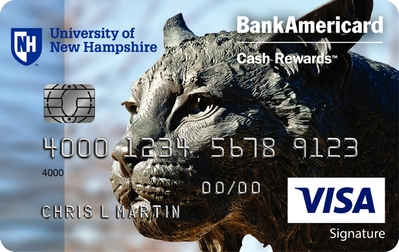 University of New Hampshire Credit Card