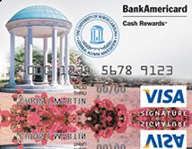 University of North Carolina Credit Card