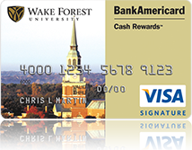 Wake Forest Credit Card
