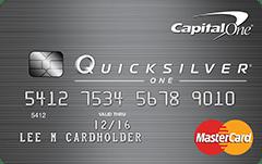 Capital One QuicksilverOne Credit Card