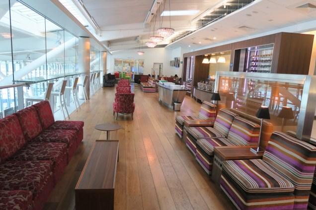 British Airways Business Class Lounge T5 LHR