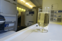 British Airways Business Class Pre-Departure Champagne