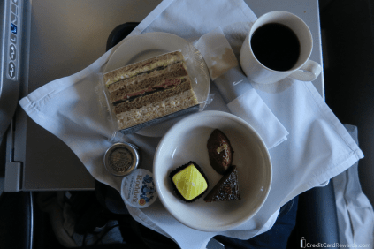 British Airways Business Class Pre-Arrival Meal