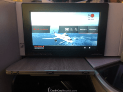 Air Canada Business Class Video Screen