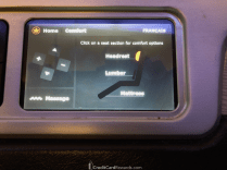 Air Canada Business Class Seat Adjustment Options
