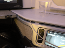 Air Canada Business Class Storage Console