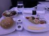 Air Canada Business Class Dinner