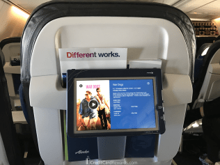 Alaska Airlines Premium Class Video Tablet
