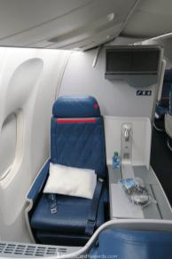 Delta One 767 Business Class Window Seat