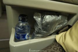 Garuda Indonesia Business Class Headphones and Water
