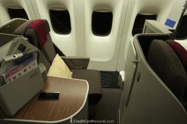 Garuda Indonesia Business Class Window Seat