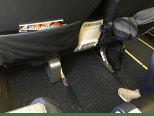 Alaska Airlines Row 6 Premium Class Legroom